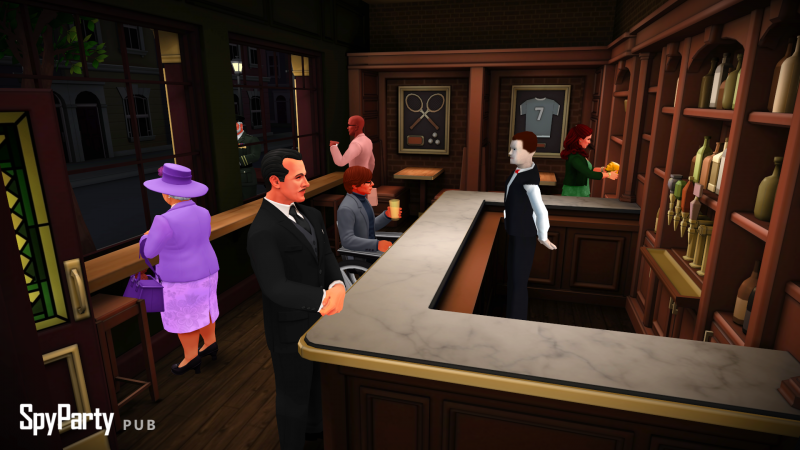 SpyParty finalmente in Early Access su Steam
