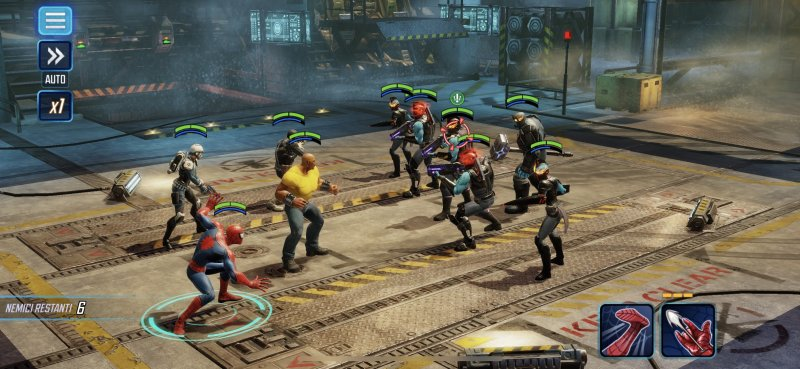 La recensione di Marvel Strike Force
