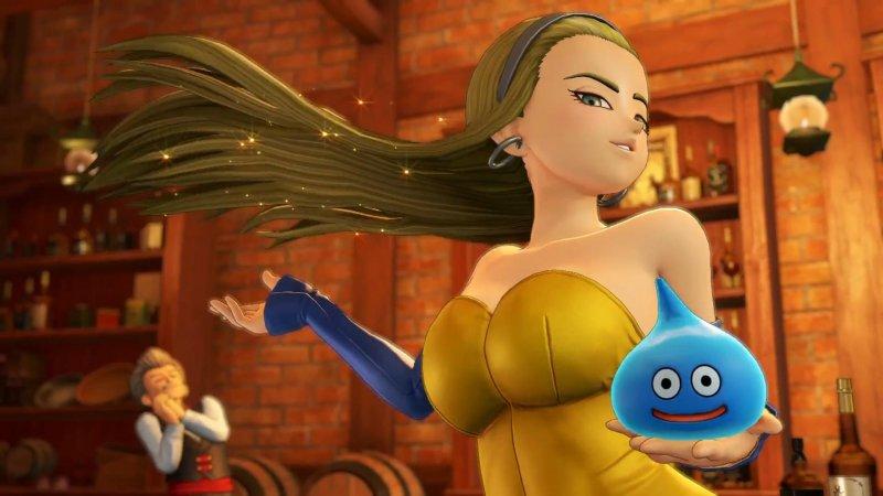 Dragon Quest XI: Echi di un'Era Perduta su Nintendo Switch sarà basato sulla versione PlayStation 4