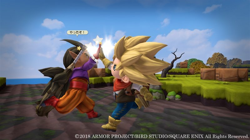 Dragon Quest Builders 2: le differenze con Minecraft