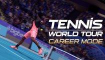 Tennis World Tour -Trailer Modalità Carriera