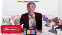 Nintendo Labo - Il trailer con Bill Nye