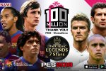 Pro Evolution Soccer festeggia i 100 milioni di copie vendute con alcune iniziative e il Data Pack 4.0 per PES 2018
