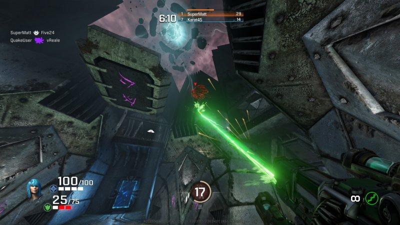 Quake Champions: il nuovo test