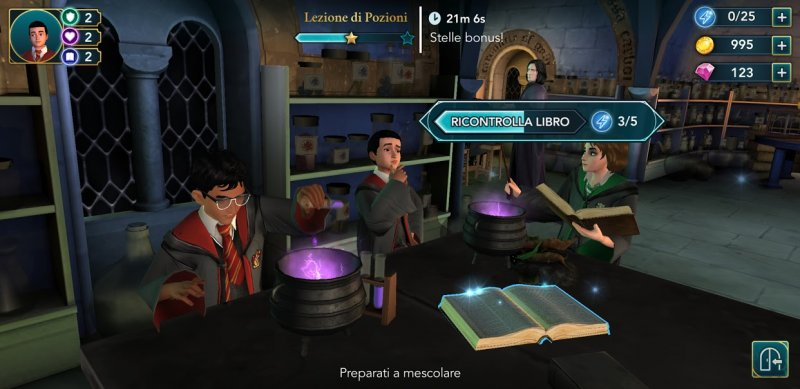 Harry Potter Hogwarts Mystery, guida alle missioni di Hogwarts