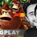 La replica del Long Play dedicato a Donkey Kong con Matteo Santicchia e Raffaele Staccini