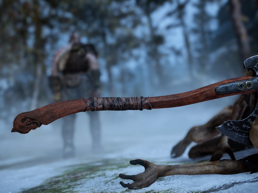 God of War: video shows the perfect replica of Kratos' ax