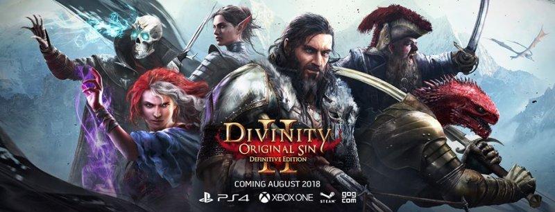 Divinity: Original Sin II Definitive Edition sarà accessibile gratuitamente per l'utenza PC già in possesso del gioco
