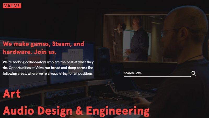 Valve ha lanciato la nuova versione del suo sito ufficiale