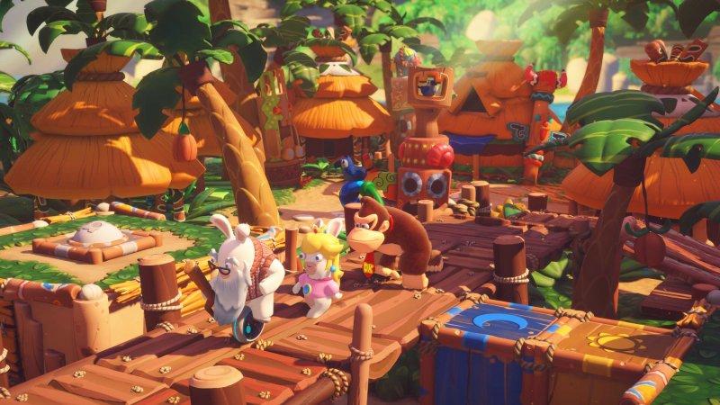Mario + Rabbids: arriva Donkey Kong