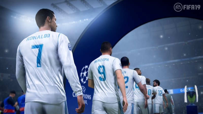 FIFA 19 includerà la UEFA Champions League