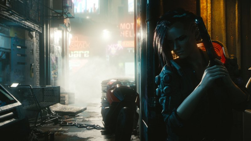 Cyberpunk2077 Just Around The Corner Rgb