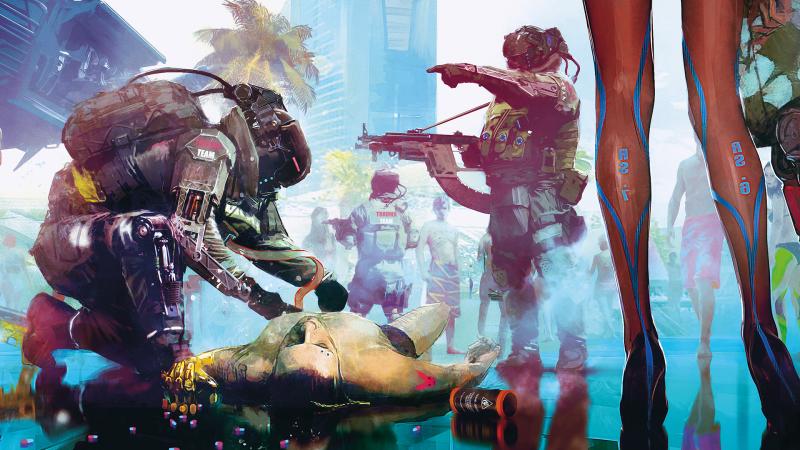Cyberpunk 2077 Concept Art 1 4