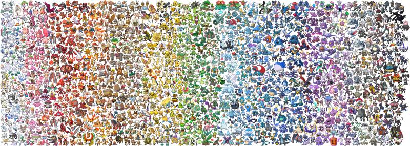 Pokemon Fasce Cromatiche