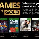 Games with Gold: ecco i titoli gratuiti di luglio