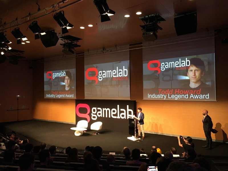 Todd Howard Gamelab Award 1