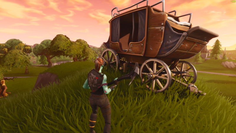 Fortnite Carrozza Stagione5