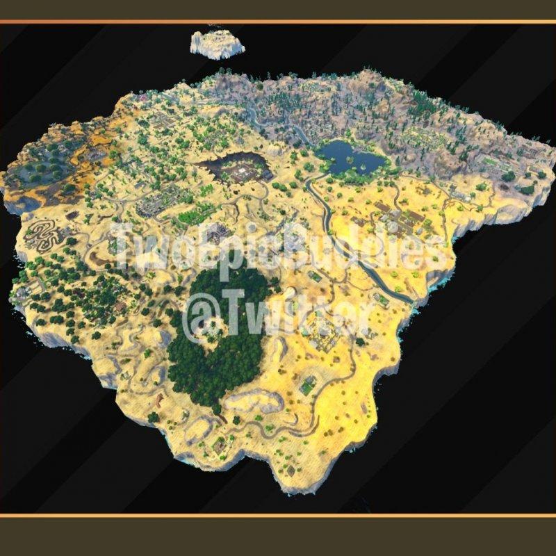 Fortnite Mappa Stagione5
