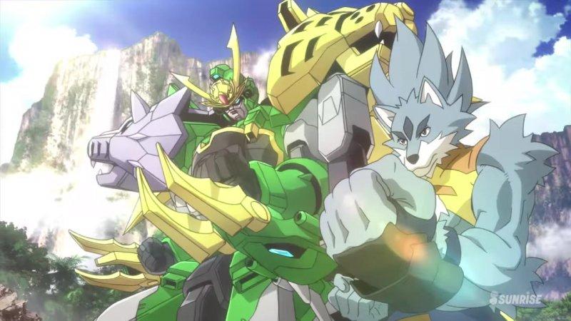 Tigerwolf  Gundam Jiyan Altron
