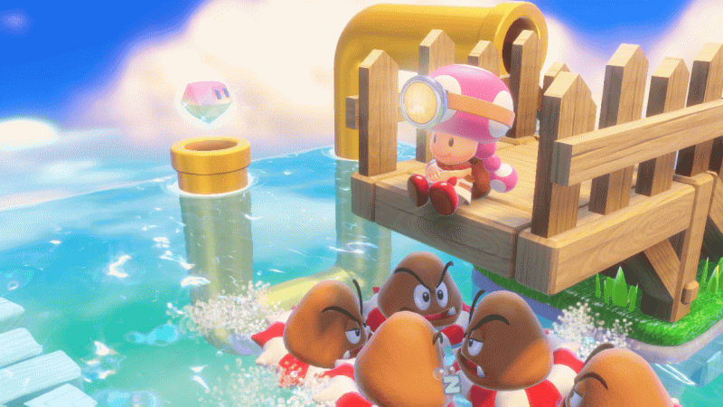Captain Toad Treasure Tracker Screenshot 05