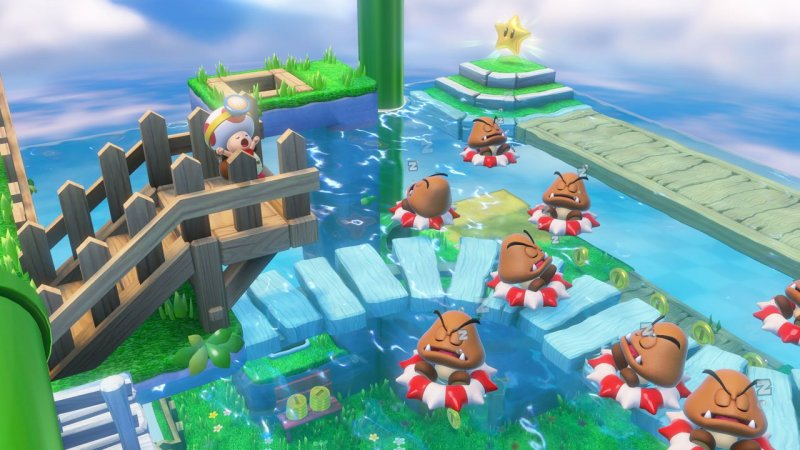 Captain Toad Treasure Tracker Screenshot