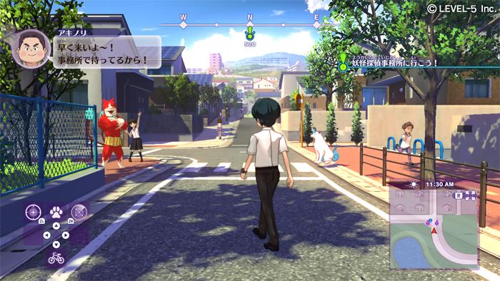 Yo-Kai Watch 4 video gameplay