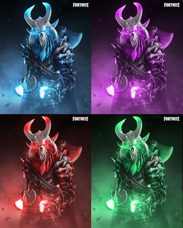 Fortnite Skin Ragnarok Concept