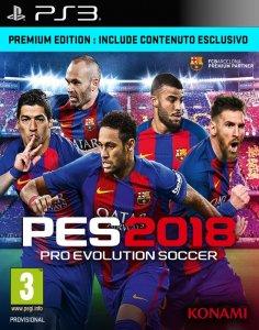 Pro Evolution Soccer 2018 (PES 2018) per PlayStation 3