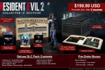 Resident Evil 2, la Collector's Edition annunciata al Comic-Con - Notizia