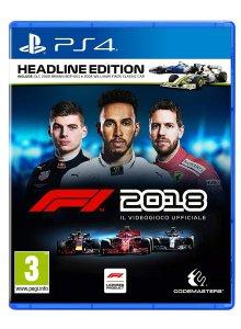 F1 2018 per PlayStation 4