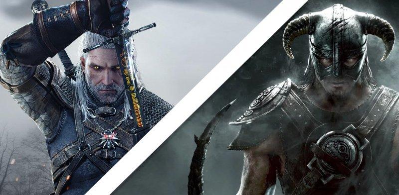 Witcher 3 Vs Skyrim