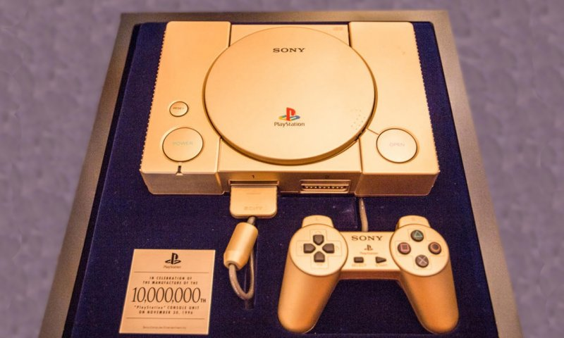 Playstation 10 Million Gold  2