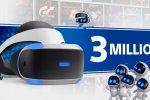 PlayStation VR, vendite per 3 milioni di unità - Notizia