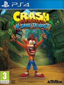 Crash Bandicoot: N. Sane Trilogy per PlayStation 4