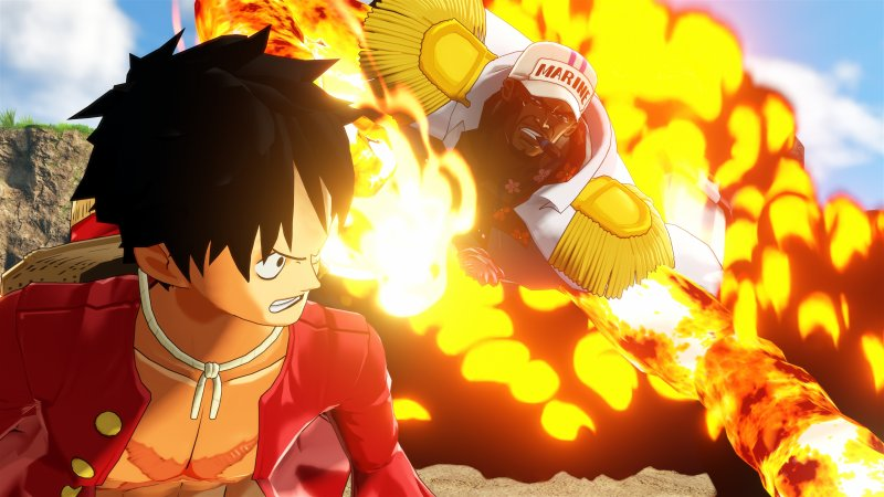 One Piece World Seeker Gamescom Rufy