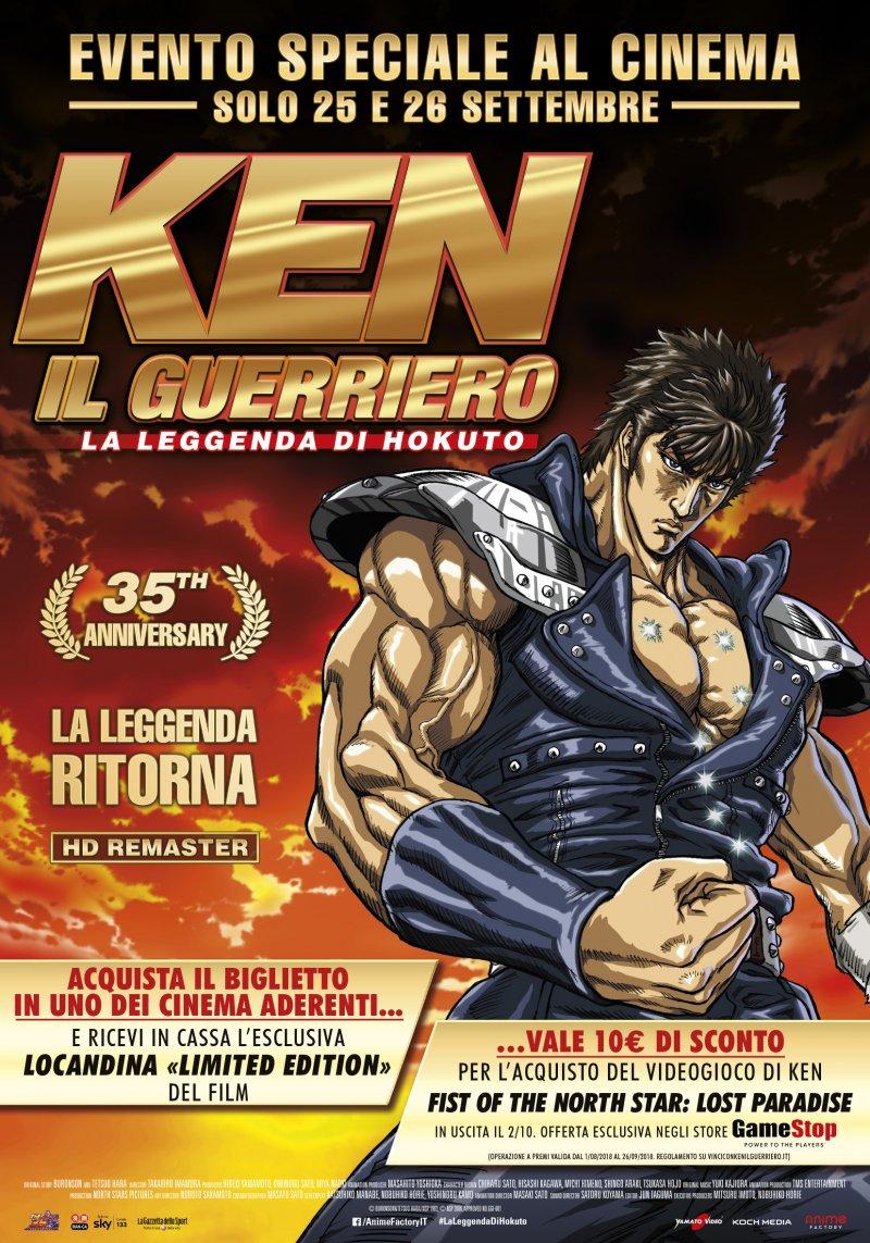 Ken il guerriero la leggenda di hokuto la clip in esclusiva