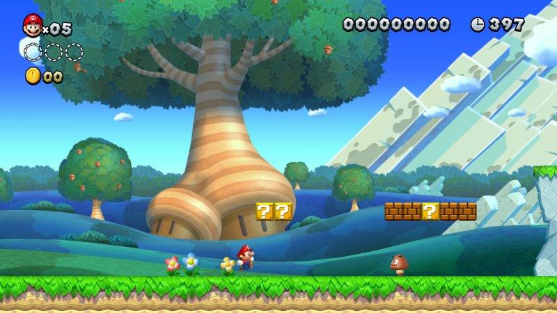 New Super Mario Bros U Deluxe 1