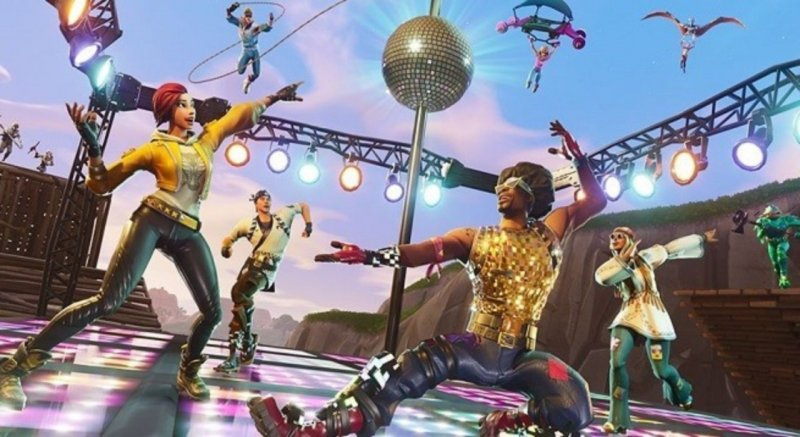 Fortnite Domina Discoteca 1