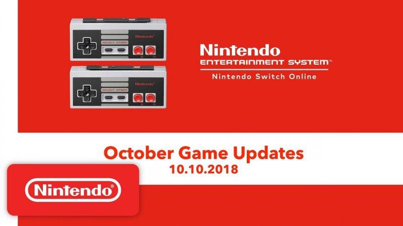 57309 Nintendo Switch Online Un Video Sui Giochi Di Ottobre