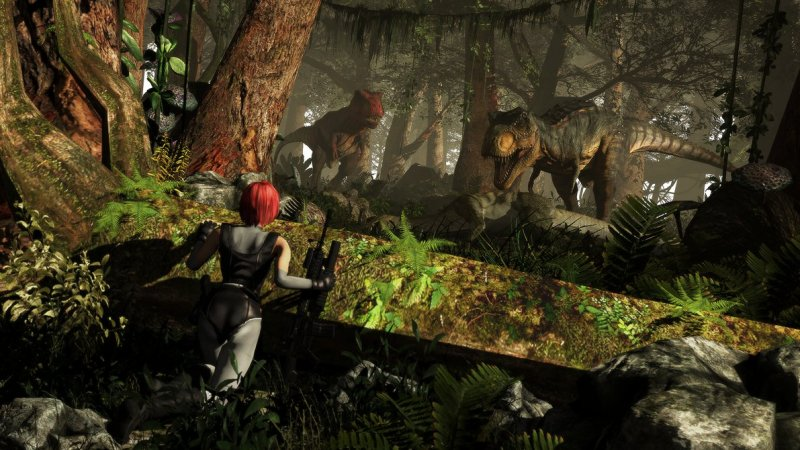 Dino Crisis   Tyrants Of The Jungle By V1Kster D8W31Abpng