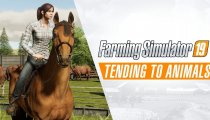 Farming Simulator 19 - Trailer gameplay cavalcate e animali
