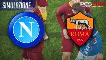 Pes 2019, Napoli-Roma: il pronostico