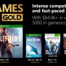 Games with Gold di novembre 2018: Battlefield 1, Race the Sun, Dante's Inferno e altri
