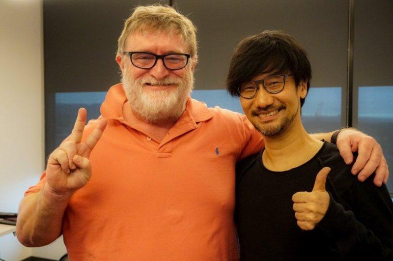 Kojima Gabe Newell