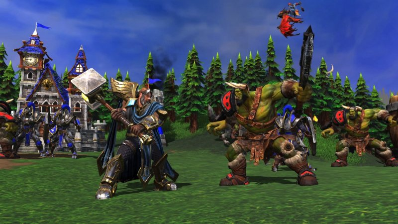 Warcraft Iii Reforged Human Vs Orc Png Jpgcopy