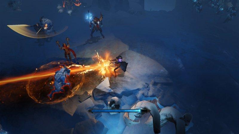 Wizard Icecave Multiplayer Combat Png Jpgcopy