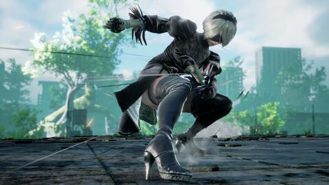 NieR: Automata, Oichi's 2B cosplay is sharp as a blade