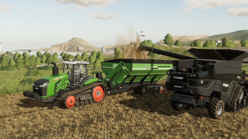 Farming Simulator 19 allows you to manage and expand every aspect of a farm
