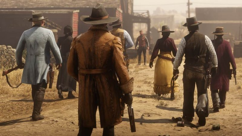 Red Dead Online  2