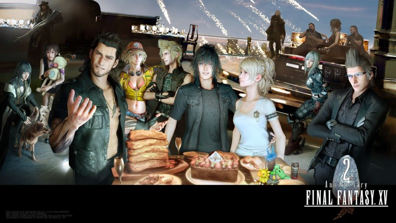 Final Fantasy 15 Xv Poster 2 Anniersario